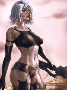 Rating: Questionable Score: 18 Tags: logan_cure nier_automata sword yorha_type_a_no._2 User: lushp