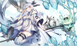 Rating: Safe Score: 10 Tags: arknights fy_fei_xiao_ya ptilopsis_(arknights) User: Mr_GT
