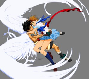 Rating: Safe Score: 2 Tags: escaflowne kanzaki_hitomi signed transparent_png van_fanel vector_trace User: Radioactive
