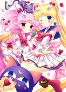 Rating: Safe Score: 18 Tags: chibiusa kouta. luna-p sailor_moon tsukino_usagi User: 椎名深夏
