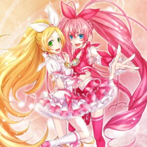 Rating: Safe Score: 12 Tags: houjou_hibiki minamino_kanade pretty_cure sakou_mochi suite_pretty_cure thighhighs User: animeprincess