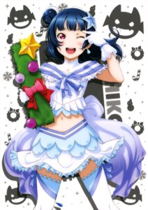 Rating: Questionable Score: 16 Tags: christmas love_live!_sunshine!! murota_yuuhei thighhighs tsushima_yoshiko User: drop