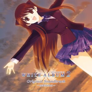 Rating: Safe Score: 22 Tags: disc_cover nakamura_takeshi ogiso_setsuna seifuku white_album white_album_2 User: blooregardo