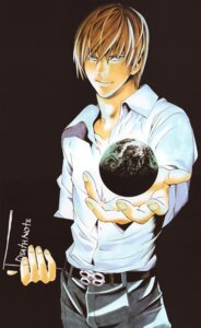 Rating: Safe Score: 5 Tags: death_note male obata_takeshi yagami_light User: Radioactive
