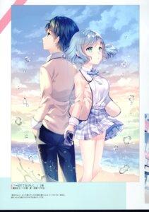 Rating: Questionable Score: 21 Tags: seifuku tagme w.label wasabi_(artist) User: kiyoe