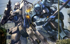 Rating: Safe Score: 9 Tags: gouf_custom gun gundam mecha sword the_08th_ms_team User: drop