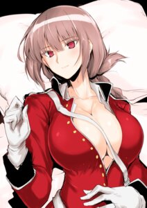 Rating: Questionable Score: 42 Tags: cleavage fate/grand_order florence_nightingale_(fate/grand_order) no_bra open_shirt ore-halcon uniform User: mash