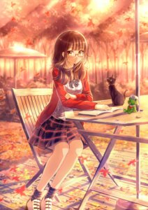 Rating: Safe Score: 41 Tags: heels kazeno megane neko User: Mr_GT