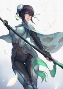 Rating: Safe Score: 33 Tags: bodysuit fate/grand_order qin_liangyu_(fate/grand_order) weapon yasu_(segawahiroyasu) User: Dreista