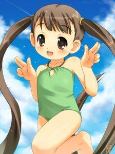 Rating: Safe Score: 19 Tags: akiba_hideki funifuniya moriguchi_yuuichi petopeto-san swimsuits User: hugo_victor