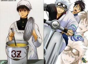 Rating: Safe Score: 3 Tags: gintama male sakata_gintoki shimura_shinpachi User: Davison