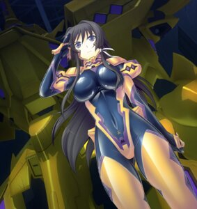 Rating: Questionable Score: 46 Tags: bodysuit mecha muvluv muvluv_alternative takamura_yui total_eclipse User: onesangheili