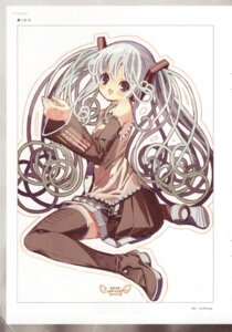 Rating: Safe Score: 8 Tags: hatsune_miku thighhighs vocaloid yamazaki_tooru User: cheese