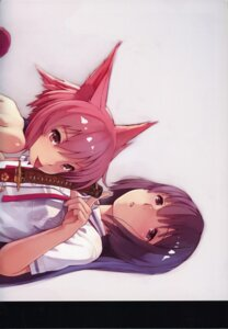 Rating: Safe Score: 18 Tags: animal_ears seifuku shizuma_yoshinori sword User: Radioactive