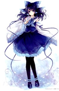 Rating: Safe Score: 59 Tags: hagiwara_rin hakurei_reimu pantyhose touhou vita_(circle) User: Radioactive