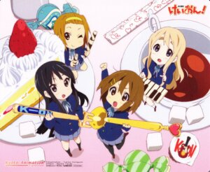 Rating: Safe Score: 14 Tags: akiyama_mio card chibi hirasawa_yui horiguchi_yukiko k-on! kotobuki_tsumugi pantyhose screening seifuku tainaka_ritsu User: acas