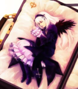 Rating: Safe Score: 11 Tags: hironox lolita_fashion rozen_maiden suigintou wings User: charunetra