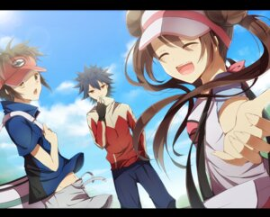 Rating: Safe Score: 16 Tags: hiiragisouren kyouhei_(pokemon) mei_(pokemon) pokemon pokemon_black_and_white_2 User: dyj