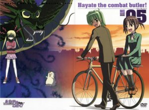 Rating: Safe Score: 6 Tags: ayasaki_hayate crease disc_cover hayate_no_gotoku nishizawa_ayumu sanzenin_nagi User: Radioactive