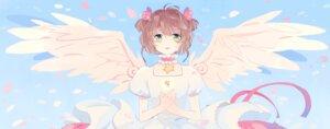 Rating: Safe Score: 11 Tags: card_captor_sakura kinomoto_sakura ky692 wings User: dyj