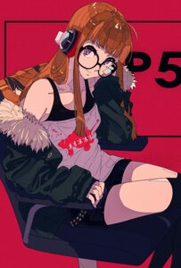 Rating: Safe Score: 32 Tags: cogecha headphones megane persona_5 sakura_futaba User: charunetra