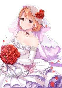 Rating: Questionable Score: 17 Tags: dress jubunnoichi_no_hanayome no_bra skirt_lift wedding_dress yukino_(yukinosora1126) User: Arsy