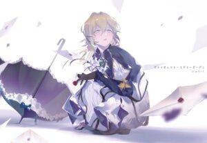 Rating: Safe Score: 13 Tags: dress tatatsu umbrella violet_evergarden violet_evergarden_(character) User: Dreista
