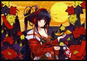 Rating: Safe Score: 103 Tags: cleavage kimono misaki_kurehito User: WtfCakes