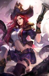 Rating: Safe Score: 19 Tags: armor garter gun kana-kana_(tracyton) league_of_legends miss_fortune skirt_lift tentacles thighhighs wet User: sym455