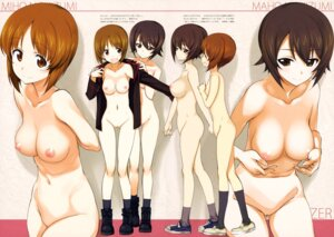 Rating: Explicit Score: 39 Tags: bottomless breast_hold breasts girls_und_panzer kurashima_tomoyasu naked nipples nishizumi_maho nishizumi_miho no_bra open_shirt photoshop pussy uncensored uniform User: Nico-NicoO.M.