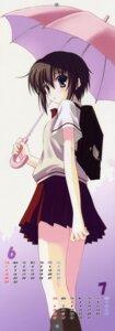 Rating: Safe Score: 20 Tags: bamboo_blade calendar kawazoe_tamaki nanao_naru seifuku stick_poster User: uguu~