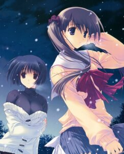 Rating: Safe Score: 18 Tags: asou_asuna december_when_there_is_no_angel mitsumi_misato seifuku sumadera_yukio User: Kalafina
