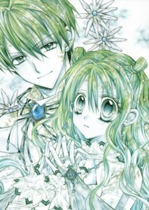 Rating: Safe Score: 4 Tags: otomiya_haine shinshi_doumei_cross tanemura_arina tougu_shizumasa User: syaoran-kun