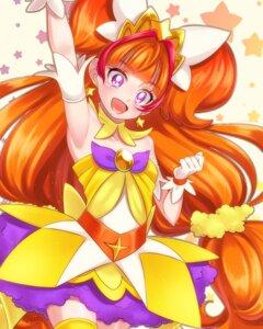 Rating: Safe Score: 10 Tags: amanogawa_kirara dress go!_princess_pretty_cure pretty_cure thighhighs yupiteru User: cosmic+T5