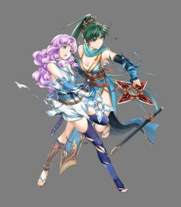 Rating: Questionable Score: 9 Tags: asian_clothes fire_emblem fire_emblem:_rekka_no_ken fire_emblem_heroes florina lyndis_(fire_emblem) ninja nintendo sarashi sword thighhighs torn_clothes weapon yamada_koutarou User: fly24