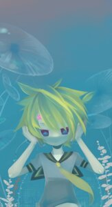 Rating: Safe Score: 5 Tags: akisame_kou kagamine_len male vocaloid User: Radioactive