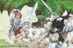 Rating: Safe Score: 6 Tags: mashima_hiro monster_hunter_orage User: Radioactive