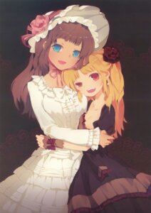Rating: Safe Score: 20 Tags: cleavage dress lolita_fashion snow_ring tako_ashin User: fireattack