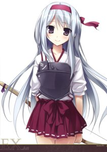Rating: Safe Score: 66 Tags: kantai_collection karomix karory shoukaku_(kancolle) weapon User: Twinsenzw