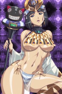 Rating: Questionable Score: 65 Tags: menace no_bra open_shirt pantsu queen's_blade see_through shimapan string_panties underboob urushihara_satoshi weapon User: Velociraptor