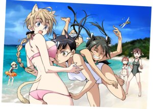Rating: Questionable Score: 34 Tags: agahari animal_ears bikini erica_hartmann eyepatch francesca_lucchini gertrud_barkhorn lynette_bishop minna_dietlinde_wilcke sakamoto_mio strike_witches swimsuits tail User: blooregardo