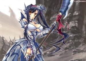 Rating: Safe Score: 23 Tags: armor cleavage fixme gap hinadamari katagiri_hinata koihime_musou thighhighs weapon User: WtfCakes