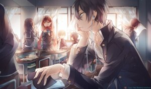 Rating: Safe Score: 31 Tags: instockee. kagerou_project kisaragi_shintarou mekakucity_actors tateyama_ayano User: zero|fade