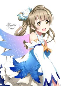 Rating: Safe Score: 31 Tags: love_live! minami_kotori shiimai wings User: Masutaniyan