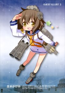 Rating: Questionable Score: 15 Tags: kantai_collection seifuku yoshimizu_kagami yukikaze_(kancolle) User: drop