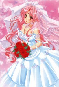 Rating: Safe Score: 34 Tags: cleavage dress girls_bravo mario_kaneda miharu_sena_kanaka wedding_dress User: Radioactive