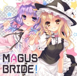Rating: Safe Score: 54 Tags: kirisame_marisa patchouli_knowledge rubi-sama touhou witch wori User: Mr_GT