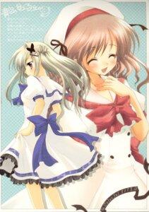 Rating: Safe Score: 9 Tags: aozora_no_mieru_oka dress hayami_iori hisuitei izumi_tsubasu suwa_nonoka User: Forbidden