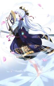 Rating: Safe Score: 35 Tags: 351_rane armor genshin_impact japanese_clothes kamisato_ayaka_(genshin_impact) sword User: Arsy