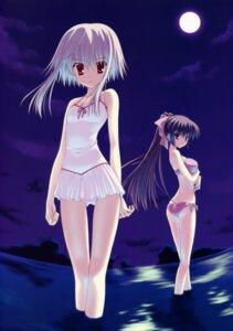 Rating: Safe Score: 38 Tags: bikini morimiya_aono nanao_naru shihou_matsuri sola swimsuits User: crim
